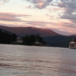 Sunset on Lake George New York