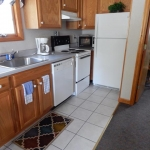 1,100 square foot townhouse - Kitchen area