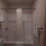 1,100 square foot townhouse - Bathroom shower