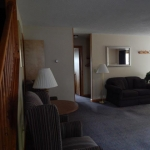 1,800 Sq. ft., 4 bedroom townhouse - Living area with couch