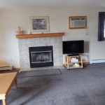 1,800 Sq. ft., 4 bedroom townhouse - Fireplace in living area