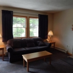 1,800 Sq. ft., 4 bedroom townhouse - Couch and coffee table
