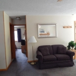 1,800 Sq. ft., 4 bedroom townhouse - Living area and couch