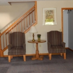1,800 Sq. ft., 4 bedroom townhouse - Two chairs for relaxing