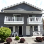 2,000 sq. ft. townhouse with 4 bedrooms - Front exterior
