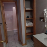 2,000 sq. ft. townhouse with 4 bedrooms - Bathroom storage
