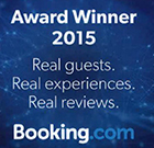 2015 Award Winner from Booking.com