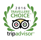 Award - 2016 Traveller's Choice - TripAdvisor
